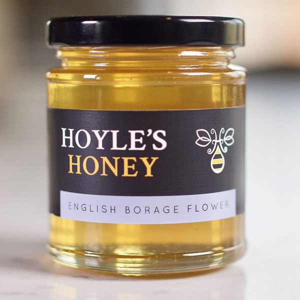 English Borage Flower honey